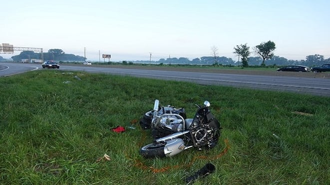 Florida Motorcyclist Dies in Crash on I-80/94 | Indiana 105 | THE