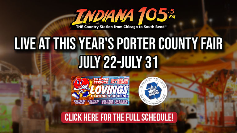 Live at the 2021 Porter County Fair!